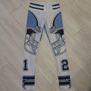 Football themed leggings